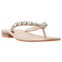 Buy Dune Niki Embellished Sandals Online at johnlewis.com