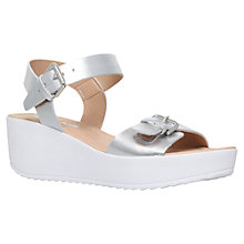 Buy Miss KG Petunia Wedge Heeled Sandals, Silver Online at johnlewis.com