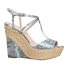 Buy MICHAEL Michael Kors Bethany Wedge Heeled Sandals Online at johnlewis.com