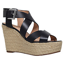 Buy MICHAEL Michael Kors Celia Wedge Heeled Sandals Online at johnlewis.com