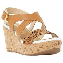Buy Dune Katness Wedge Heeled Sandals Online at johnlewis.com