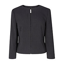 Buy L.K. Bennett Carlotta Jacket, Blue Online at johnlewis.com