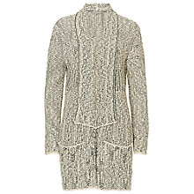 Buy Betty & Co. Long Wrap Cardigan, Reed/Nature Online at johnlewis.com