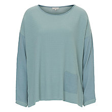 Buy Betty & Co. Textured Top, Smoky Blue Online at johnlewis.com