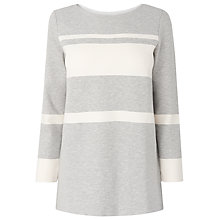Buy L.K. Bennett Maui Long Stripe Jersey Top Online at johnlewis.com