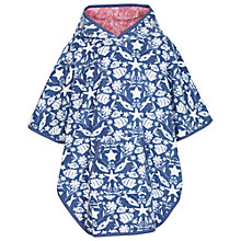 Buy Fat Face Girls' Seaside Towelling Beach Buddy, Ink Online at johnlewis.com