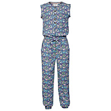 Buy Fat Face Girls' Butterfly Jumpsuit, Ink Online at johnlewis.com