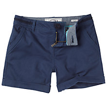 Buy Fat Face Girls' Alice Chino Shorts, Light Navy Online at johnlewis.com