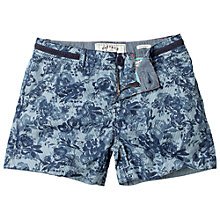 Buy Fat Face Girls' Floral Print Chino Shorts, Ink Online at johnlewis.com
