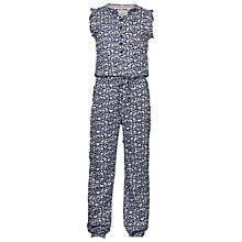 Buy Fat Face Girls' Butterfly Jumpsuit, Navy Online at johnlewis.com
