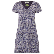 Buy White Stuff Kiln Jersey Tunic Dress, Ebony Blue Online at johnlewis.com