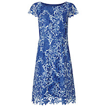Buy White Stuff Belle Flower Dress, Belle Flower Blue Online at johnlewis.com