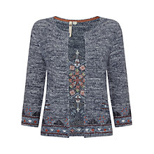 Buy White Stuff Lana Knit Jacket, Graphite Grey Online at johnlewis.com
