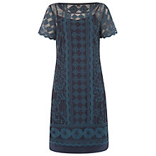 Buy White Stuff Coralie Dress, Teal Online at johnlewis.com