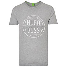 Buy BOSS Green Logo T-shirt Online at johnlewis.com