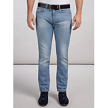 Buy BOSS Green Delaware Jeans, Bright Blue Online at johnlewis.com