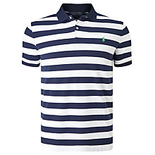 Buy Polo Golf by Ralph Lauren Polo Shirt, French Navy/White Online at johnlewis.com
