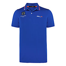 Buy Polo Golf by Ralph Lauren 'The Open Collection' Pro Fit Polo Shirt, Pacific Royal Online at johnlewis.com