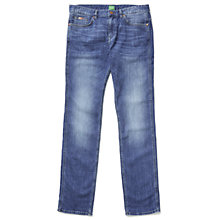 Buy BOSS Green Delaware Jeans, Medium Blue Online at johnlewis.com
