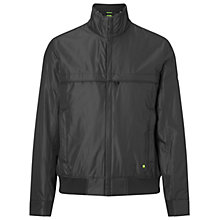 Buy BOSS Green Jadon Jacket, Black Online at johnlewis.com
