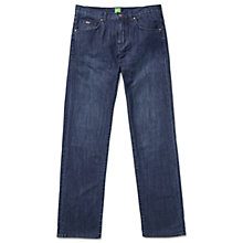 Buy BOSS Green Kansas Jeans, Navy Online at johnlewis.com