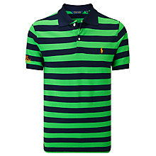 Buy Polo Golf by Ralph Lauren 'The Open Collection' Short Sleeve Pro Fit Polo Shirt Online at johnlewis.com