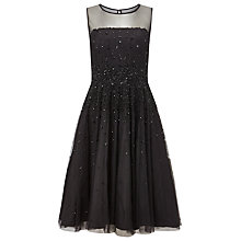 Buy Phase Eight Collection 8 Callas Embellished Dress, Black Online at johnlewis.com