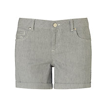 Buy Phase Eight Anna Stripe Shorts, Indigo/Ivory Online at johnlewis.com