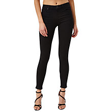 Buy Miss Selfridge Sofia Jeans, Black Online at johnlewis.com