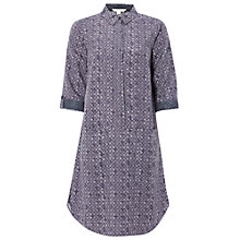 Buy White Stuff Penwith Shirt Dress, Purple Online at johnlewis.com