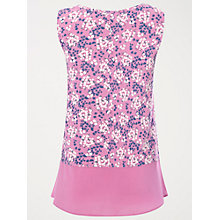 Buy White Stuff Linen Petal Jersey Vest, Tulip Pink Online at johnlewis.com
