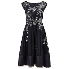 Buy Phase Eight Collection 8 Areatha Tulle Sequin Dress, Navy Online at johnlewis.com