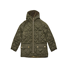 Buy Barbour Boys' Border Liddesdale Jacket, Sage Online at johnlewis.com