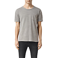 Buy AllSaints Gibbs Crew Neck T-Shirt Online at johnlewis.com