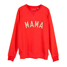 Buy Selfish Mother Mama Crew Neck Sweatshirt Online at johnlewis.com