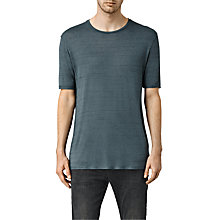 Buy AllSaints Lareat Crew Neck T-Shirt Online at johnlewis.com