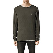 Buy AllSaints Clash Crew Neck Jumper Online at johnlewis.com