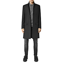 Buy AllSaints Rotary Overcoat, Black Online at johnlewis.com