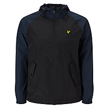 Buy Lyle & Scott Hooded Anorak, True Black Online at johnlewis.com