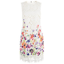 Buy Damsel in a dress Botanical Shift Dress, Cream Online at johnlewis.com