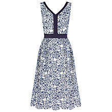 Buy Fenn Wright Manson Donatello Dress, Navy/Ivory Online at johnlewis.com