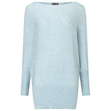 Buy Phase Eight Britney Batwing Jumper, Soft Blue Online at johnlewis.com