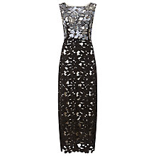 Buy Phase Eight Collection 8 Candy Embellished Dress, Black/Pewter Online at johnlewis.com