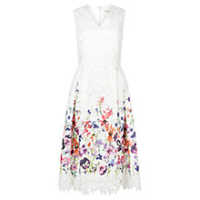 Buy Damsel in a dress Botanical Preppy Dress, Cream Online at johnlewis.com