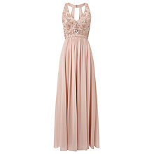 Buy Phase Eight Collection 8 Etienne Embellished Dress, Petal Online at johnlewis.com