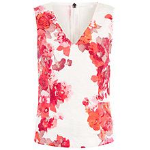 Buy Damsel in a dress Preppy Top, Cream/Red Online at johnlewis.com