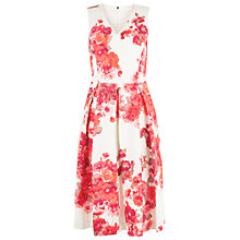 Buy Damsel in a dress Preppy Full Dress, Cream/Red Online at johnlewis.com
