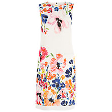 Buy Damsel in a dress Wild Flower Dress, White/Multi Online at johnlewis.com