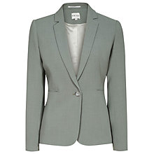 Buy Reiss Camila Textured Wool Blazer, Fern Online at johnlewis.com