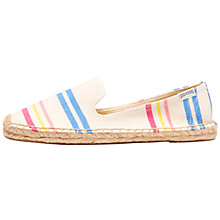 Buy Soludos Candy Stripe Espadrilles, Natural Multi Online at johnlewis.com